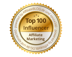 top 100 influencer affiliate