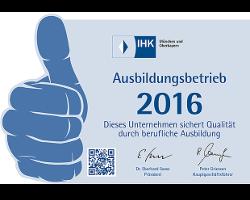 IHK certified